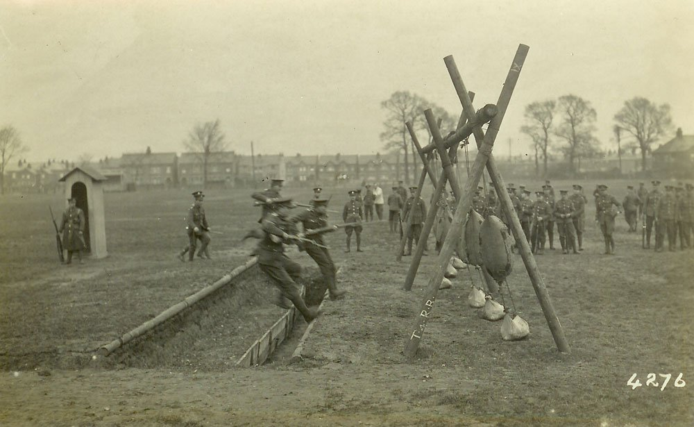 Training At Hare Hall Camp, Essex
