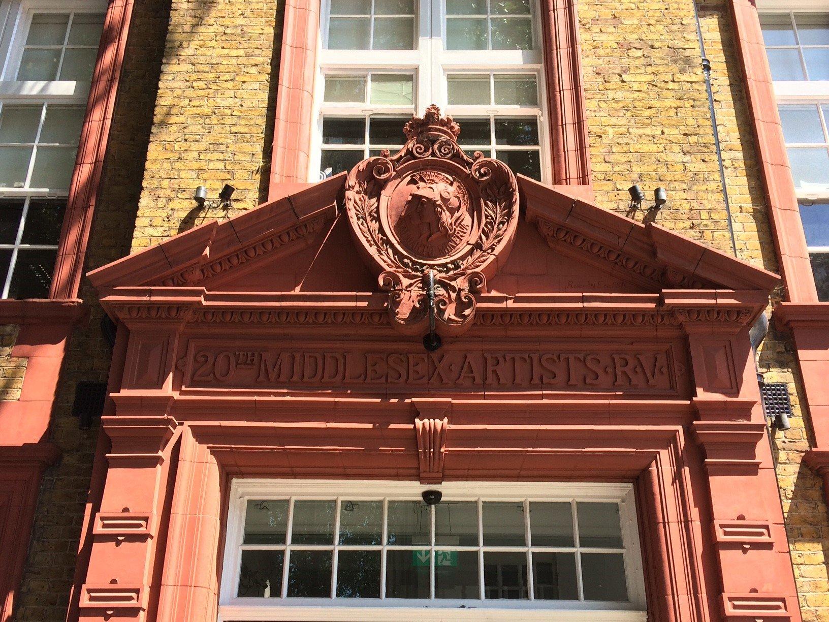 Doorway To Artists' Rifles