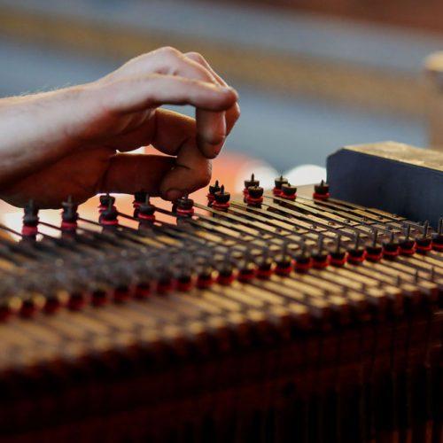 Adjusting Key Action, St Mellitus Organ
