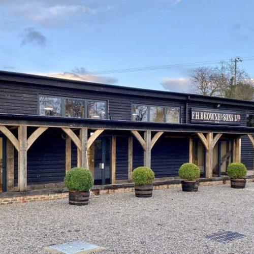 F H Browne Workshop Exterior