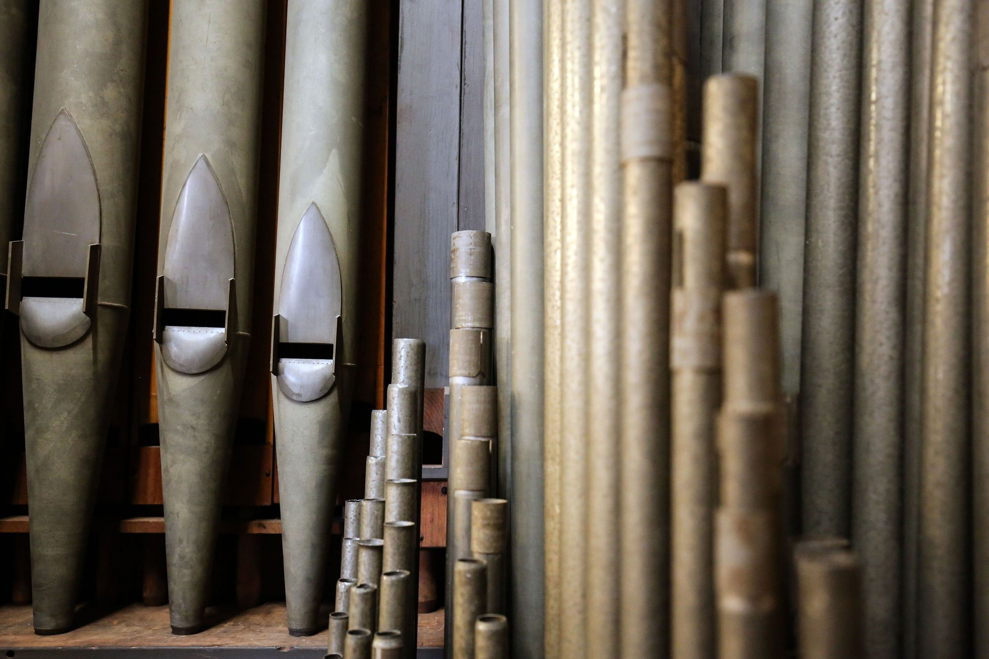 Metal Organ Pipes