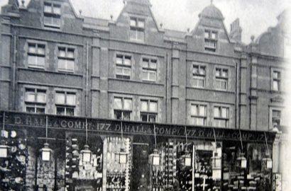 D. Hall & Company, Stroud Green Road. Islington Local History Centre
