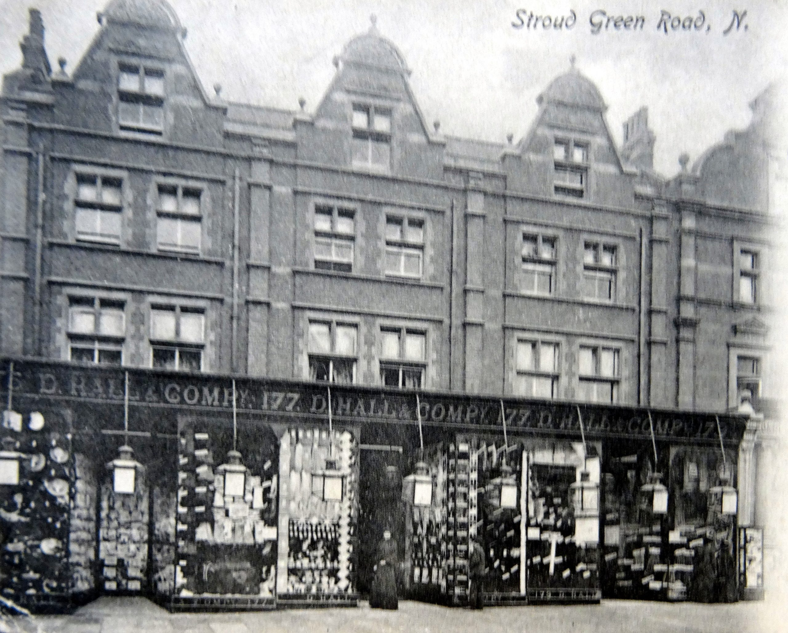 D. Hall & Company, Stroud Green Road. Islington Local History Centre