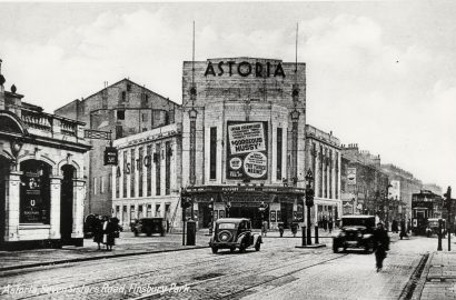 Stop 10 - Astoria Cinema In 1936, Later Rainbow Theatre And Now UKKG Help Centre, Islington Local History Centre