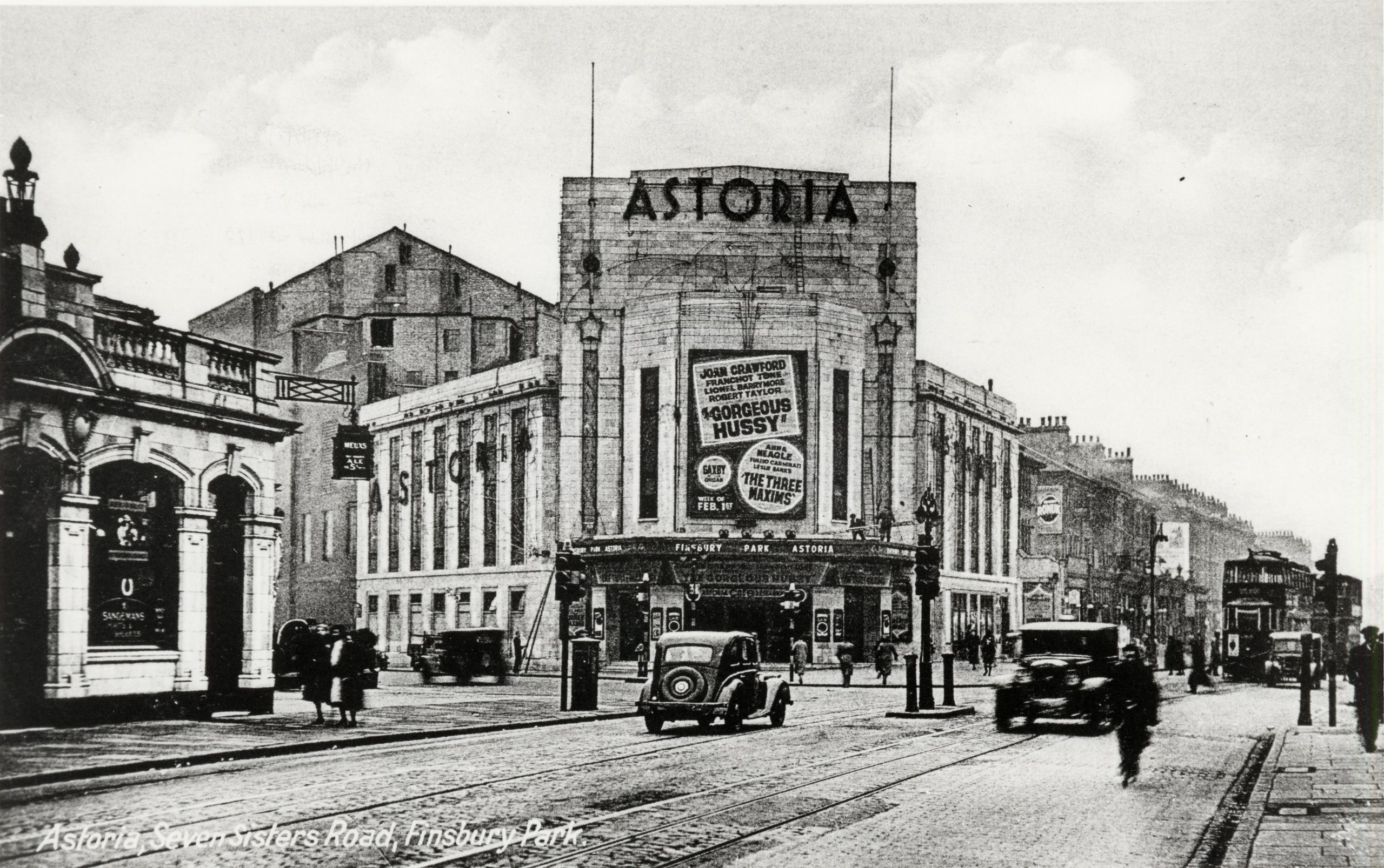 Stop 10 - Astoria Cinema In 1936, Later Rainbow Theatre And Now UCKG Help Centre, Islington Local History Centre