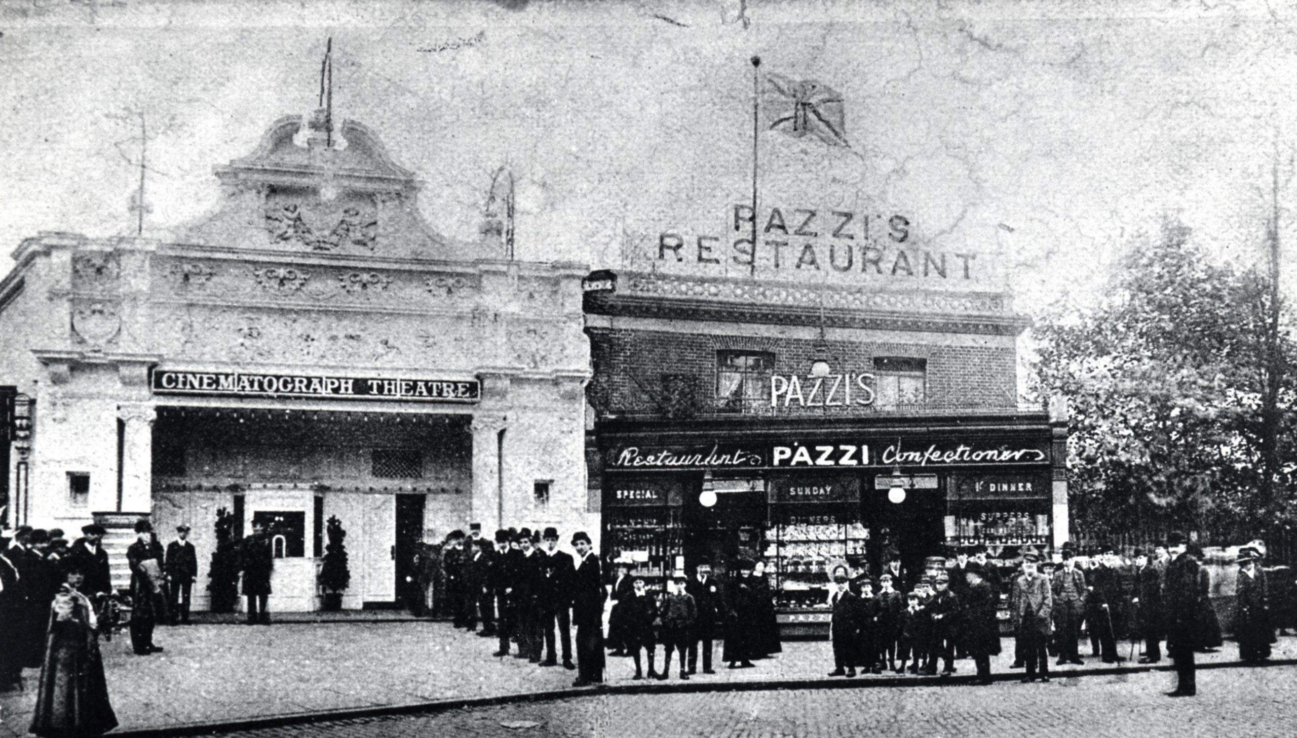 Stop 8 - Rink Cinema In 1909, Now Rowans