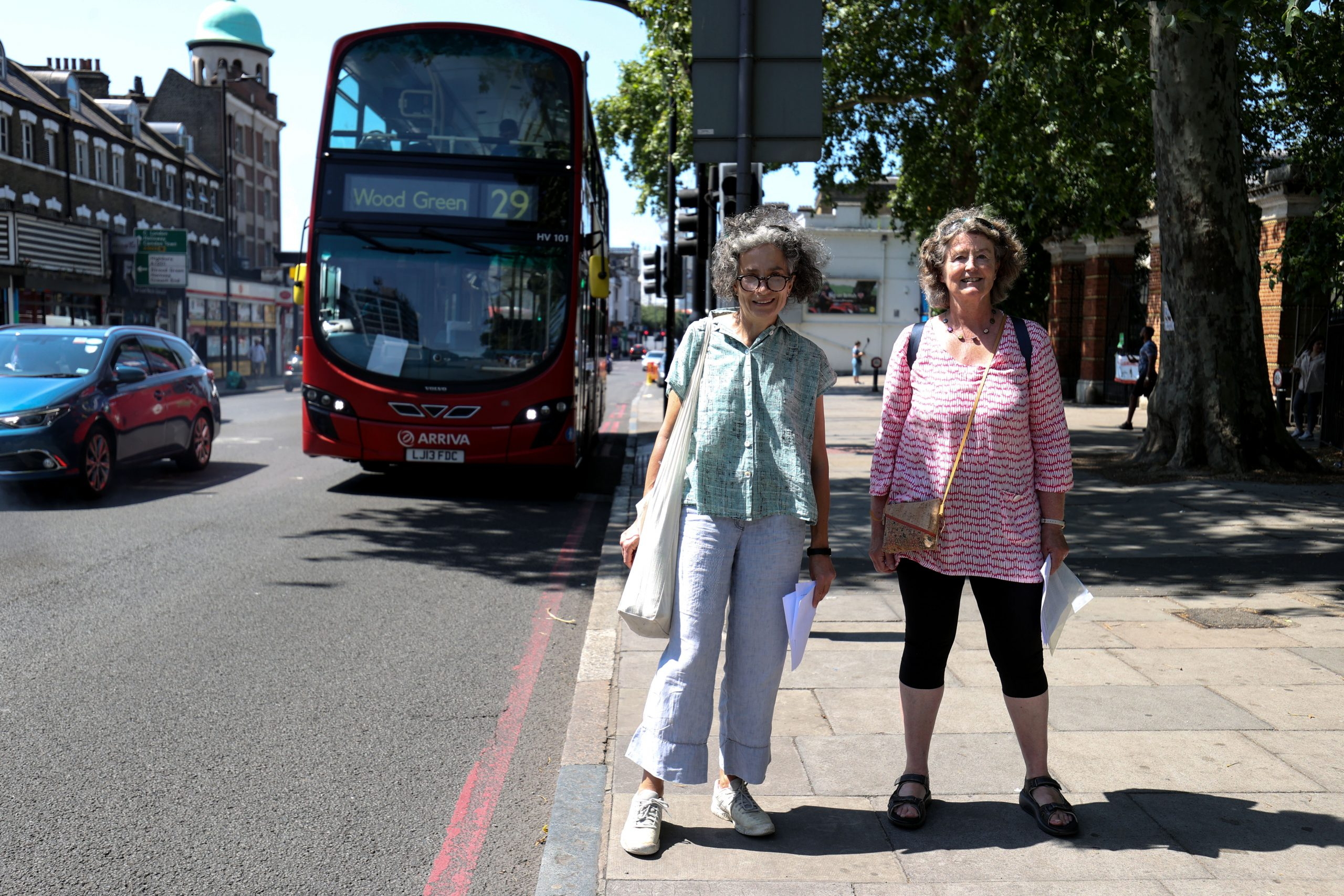 Stop 9 - Oonagh And Susan And The No. 29 Bus