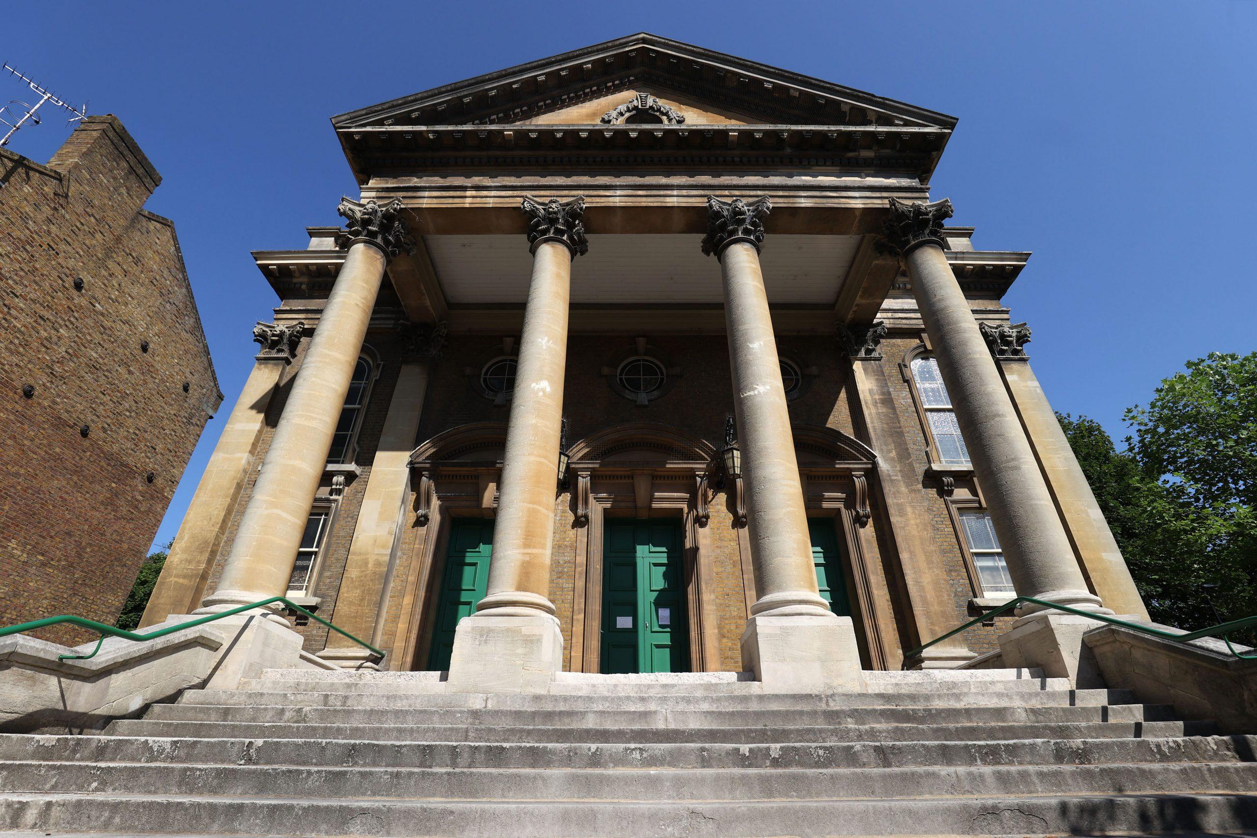 Stop 1 - St Mellitus Church, Home Of The Hunter Memorial Organ