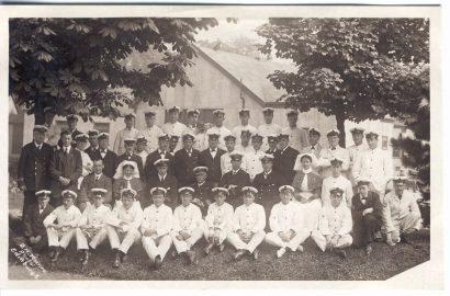 Butlaw Naval Hospital Staff, Courtesy Of John D M Gordon