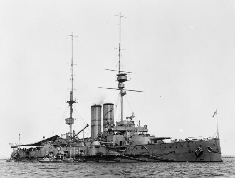 HMS Africa. Imperial War Museum, Q38036 Collection No.2107-01