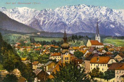Postcard Of Imst In The Austrian Tyrol, 1919