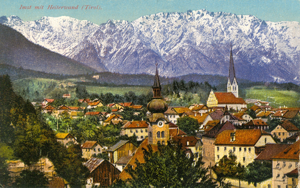 Postcard Of Imst In The Austrian Tyrol, 1919