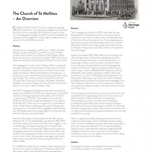 The Church Of St Mellitus: An Overview 1/2