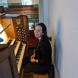 Marion Bettsworth Plays The Restored Organ At The Open House Festival